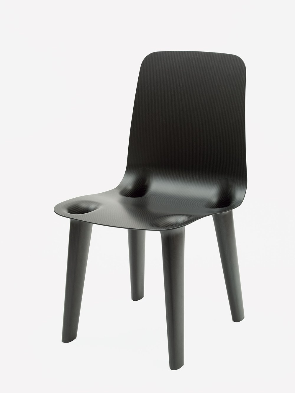 Marc Newson's Carbon Fiber chair, 2000. An edition of 250 were made.