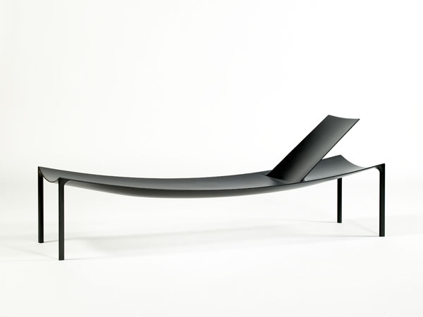 Konstantin Gracie's 'Karbon' chaise produced as a limited edition piece for for Galerie Kreo Paris 2008.