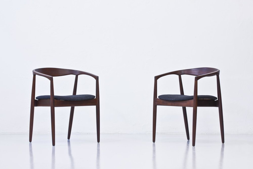 Kai Kristiansen's famous 'Troika' chair was manufactured in Denmark from 1950 to 1959 and sold by Ikea for many years.