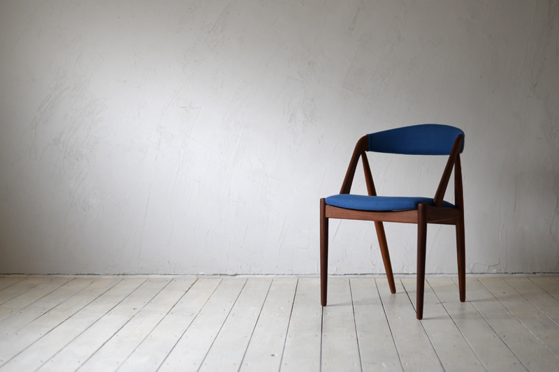 Kai Kristiansen's Model 31 chair - once his most popular design, selling more than 10,000 units a year for Ikea when the company still brought in designs from other companies. The chair was reissued by Miyazaki in 2013 under the name 'Handy'.