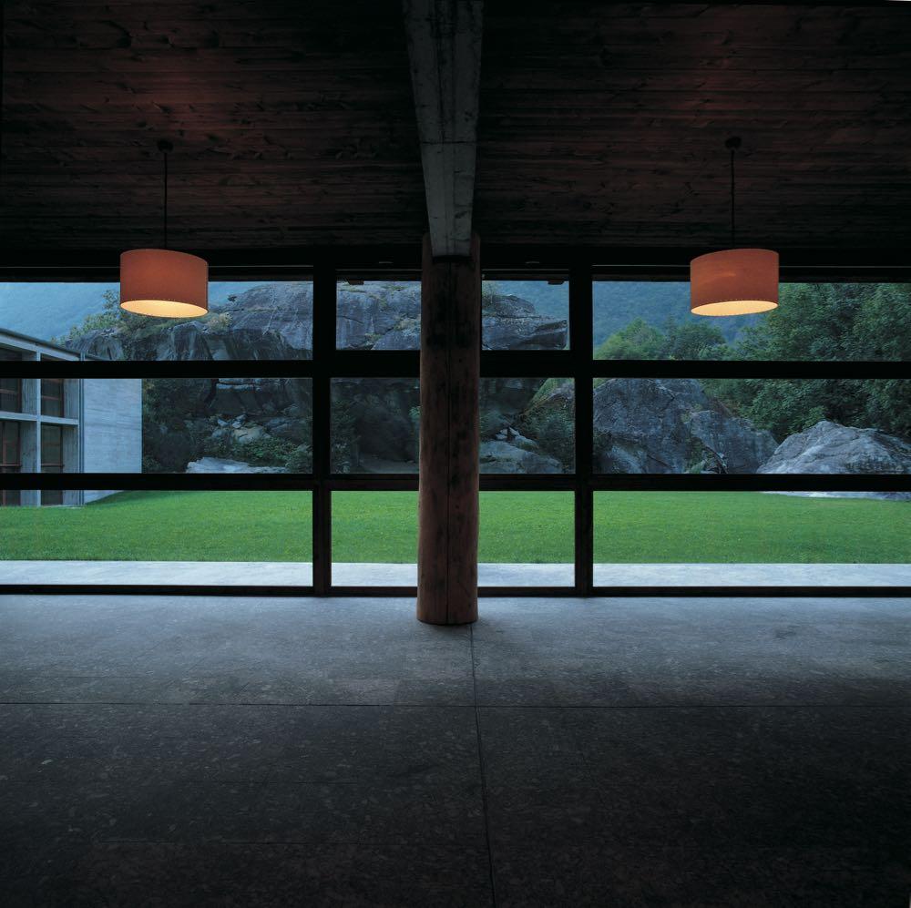 The interior of Act_Romegialli's Casa delle Guide Alpine Lodge in Valmasino Sondrio, Italy. Photgraph by Filippo Simonetti.