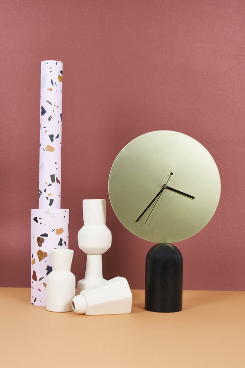 Eno Studio's 'Nimbe' clock designed by AC / AL studio.