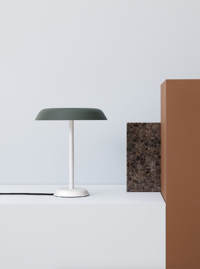 The 'Lampalu' table lamp by Falke Svatun finds expression through the perfection of proportion.
