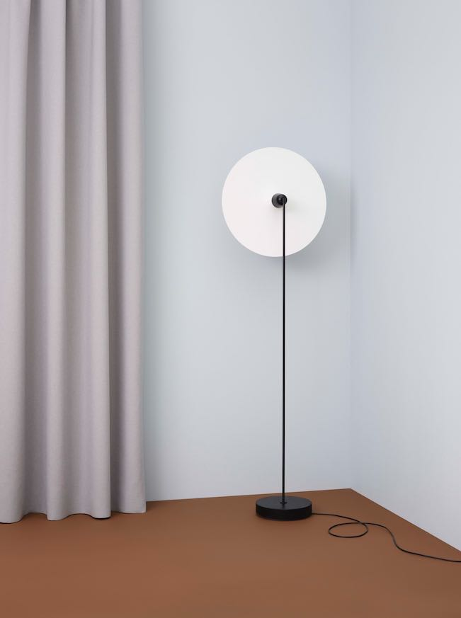The 'Chanterelle' floor lamp by Falke Svatun