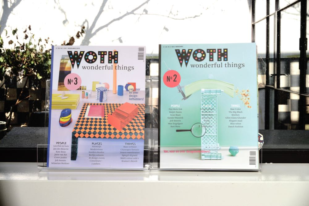 The covers of Woth issues 2 and 3. The emphasis on object orientated covers seems to be paying dividends.