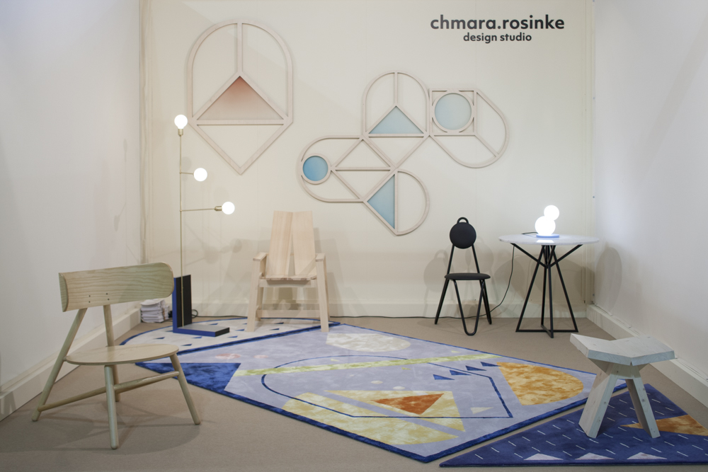 Chmara.rosinke design studio (Ania Rosinke and Maciej Chmara) from Vienna showing at Salone Satellite.  You can see more of their work here.  Photograph by Craig Wall.
