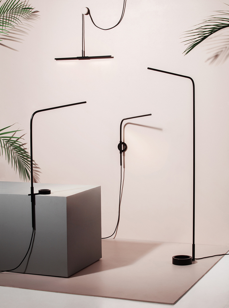 The 7 lighting collection by Laura Väre. Photo by Annikki Valomieli.