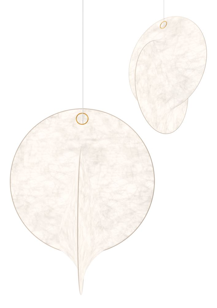 Michael Anastassiades' 'Overlap' pendant for Flos.