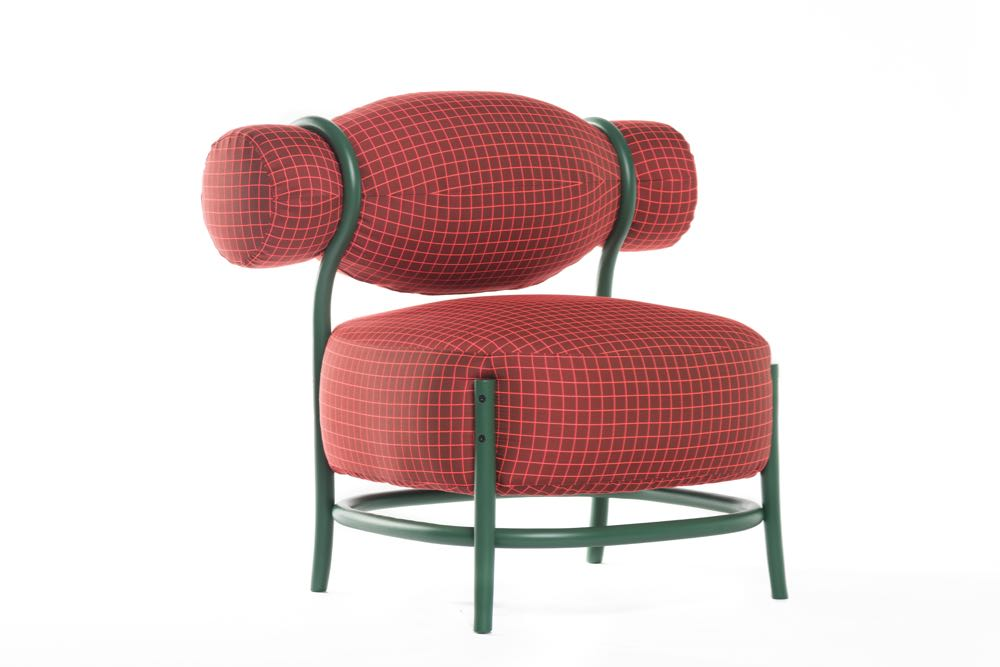 The 'Chignon' lounge chair by Lucidi Pevere for Gerbrüder Thonet Vienna
