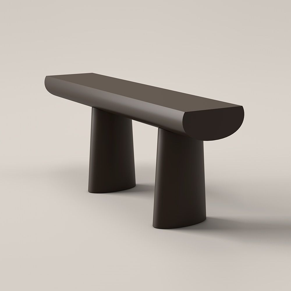 Aldo Bakker's 'Brown table' for Danish brand Karakter. The monolithic quality of this table is quite powerful yet calming.
