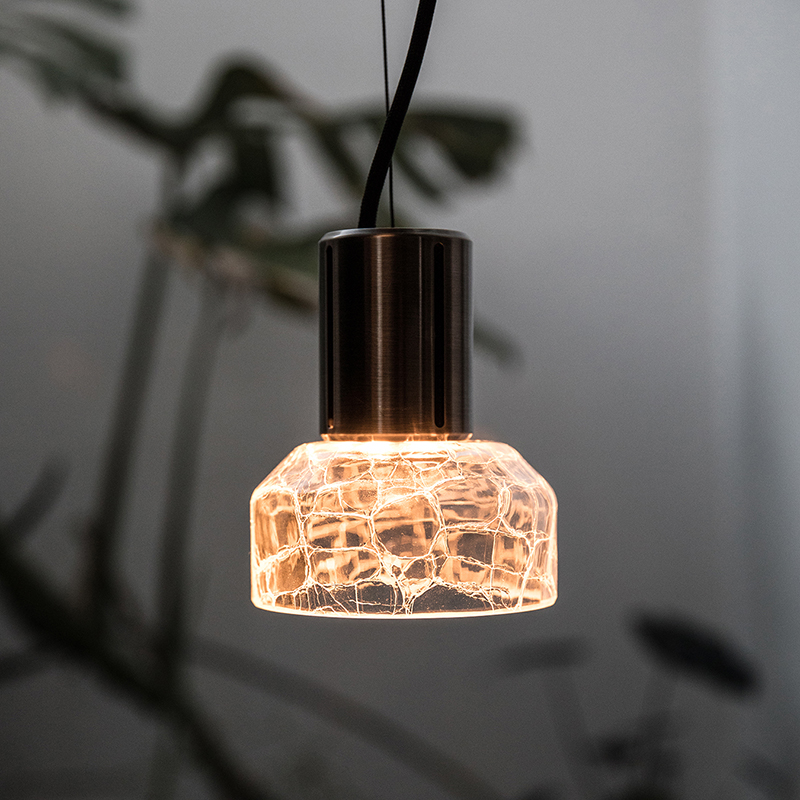 'Greenway Crackle S1' pendant by Alex Fitzpatrick for ADesignStudio.