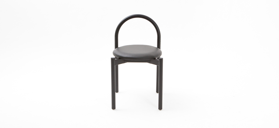 The 'Halo' chair by Lisa Vincitorio and Laelie Berzon for Something Beginning With.