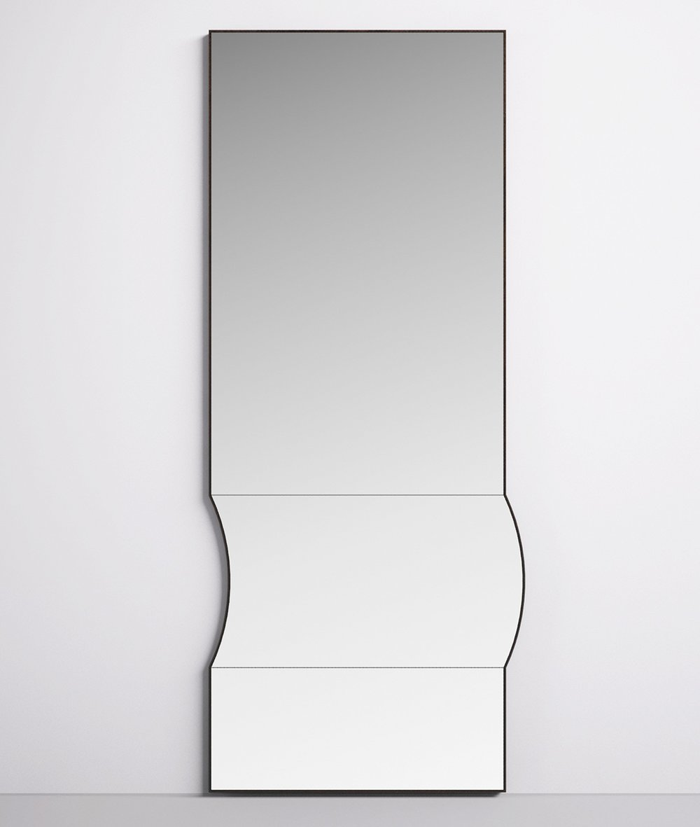 Bower's 'Bump' mirror launched at ICFF nyc x design 2017.