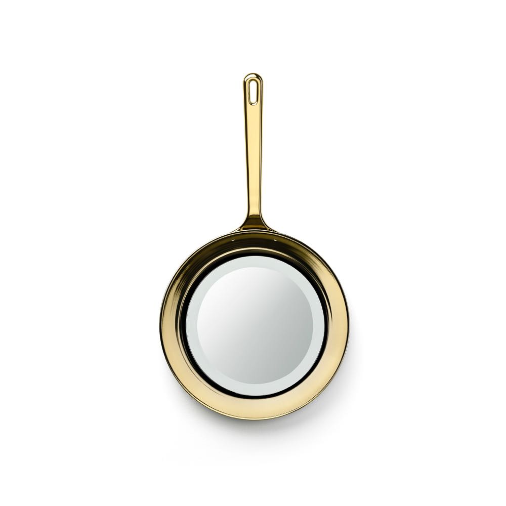 The 'Frying Pan' mirror by Studio Job for Ghidini 1961.