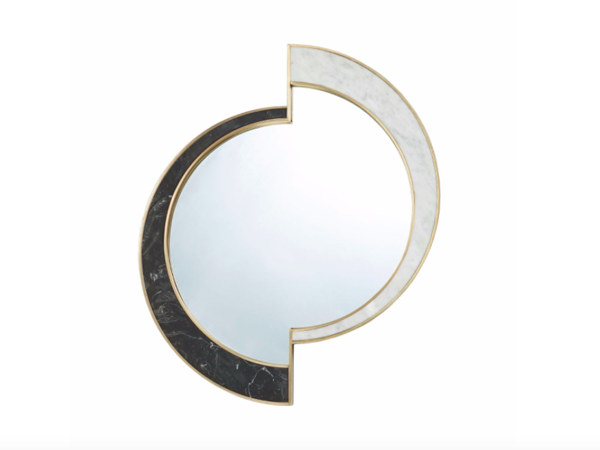 'Half Moon' mirror by Lara Bohinc for Lapicida.