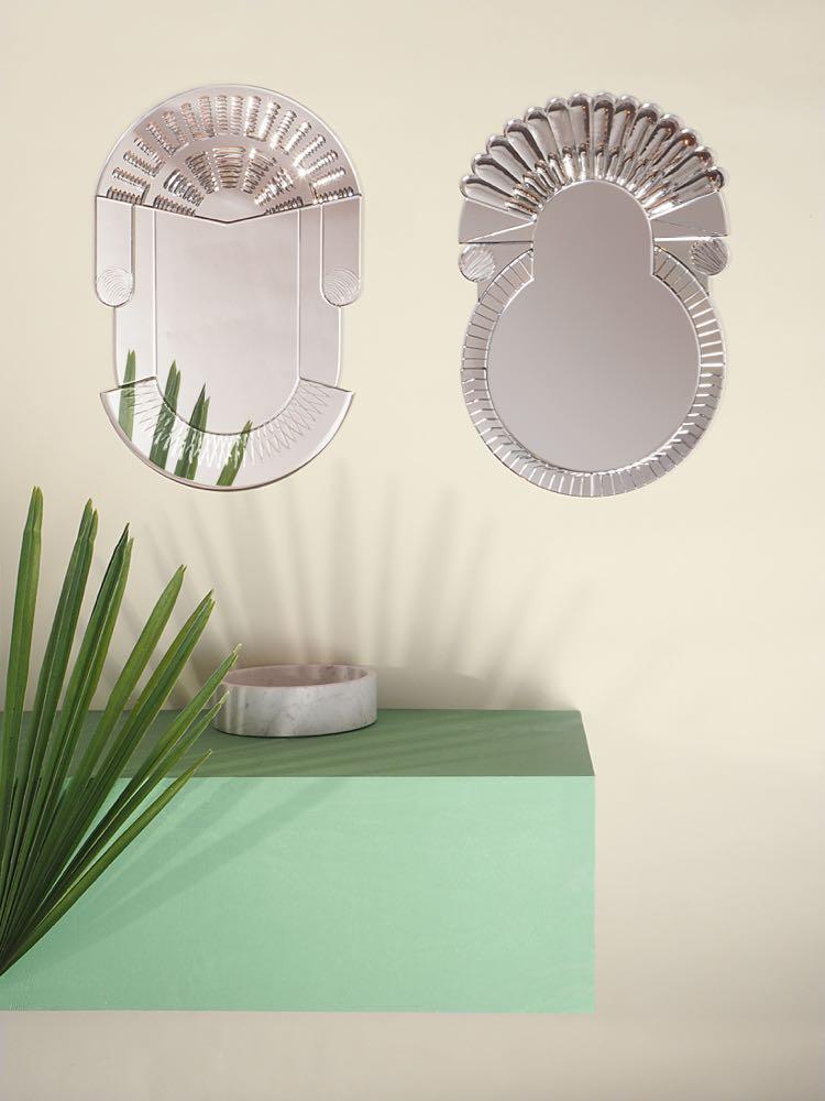 'Scena' mirrors by Nikolai Kotlarczyk for Italian brand Portego.