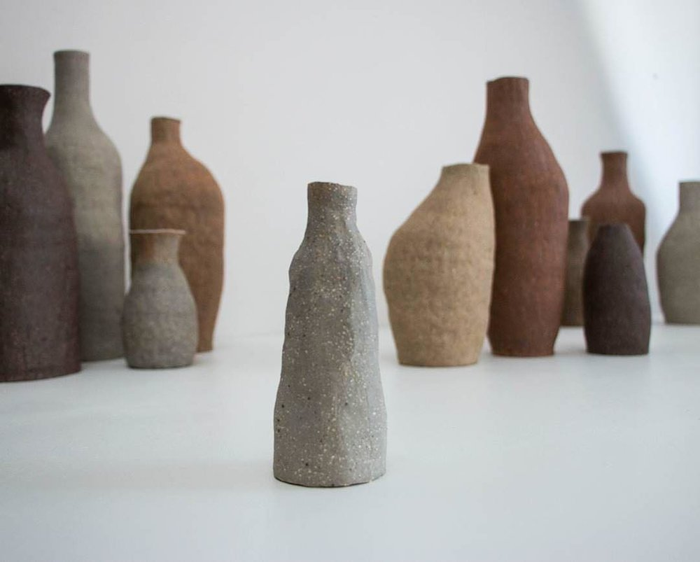 Kerryn Levy bottle forms.