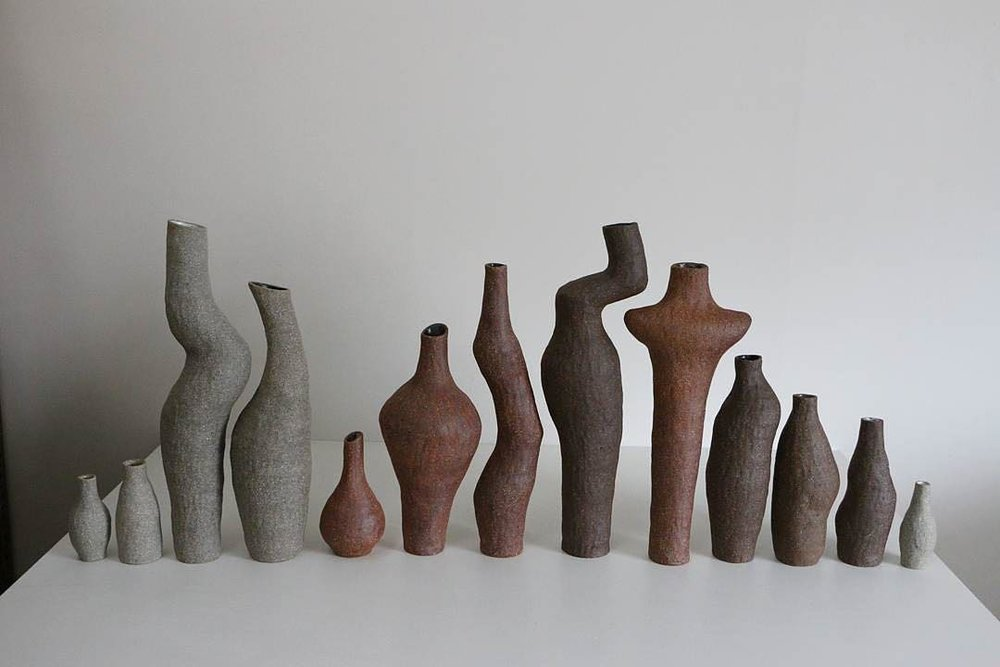The misaligned bodies of Kerryn Levy's vessels create a strangely beguiling group dynamic.