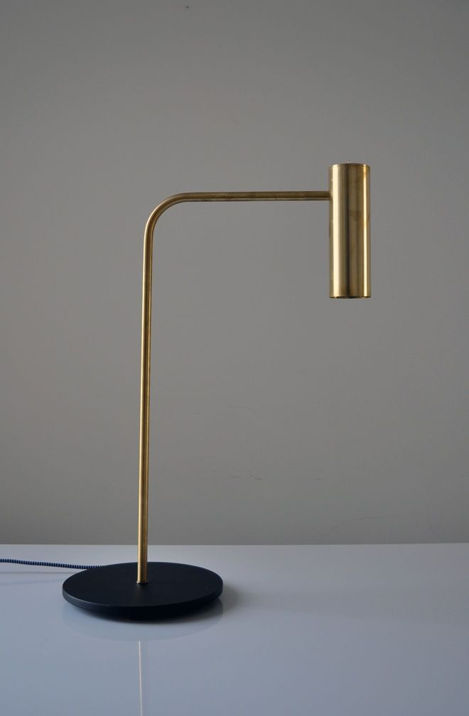 The 'Heron' table lamp by Michael Verheyden for CTO Ligthing.