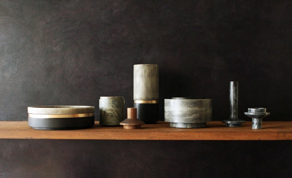 A selection of Michaël Verheyden vessels as part of a solo exhibition of his work held at the Willer gallery in 2014.