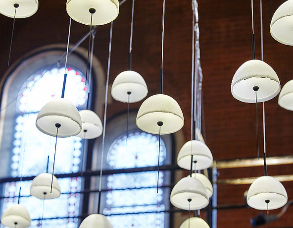Nir Meiri 'SeaSalt' pendants at LDF 2017.