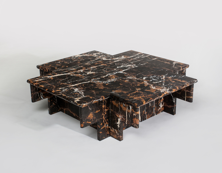Christopher Stuart's 'Ziggurat' coffee table.