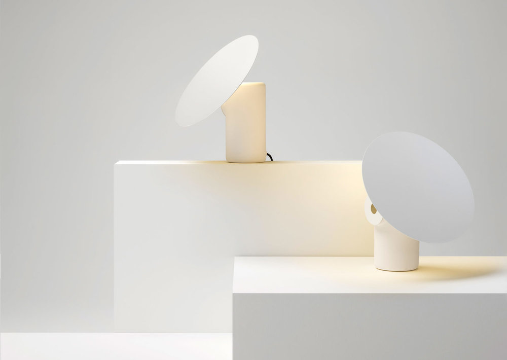 Ross Gardam's 'Polar' table light.