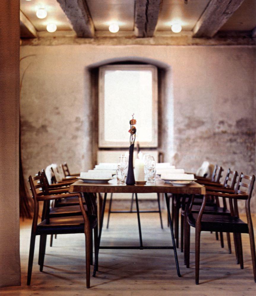 Model 78 chairs at Nomi restaurant Copenhagen.