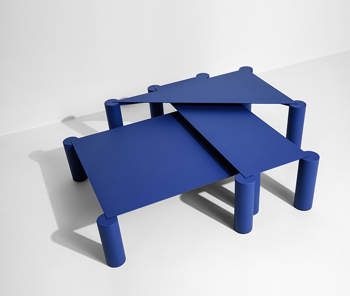 'Thin' low tables from the Villégiature collection by Max Enrich for Petite Friture.