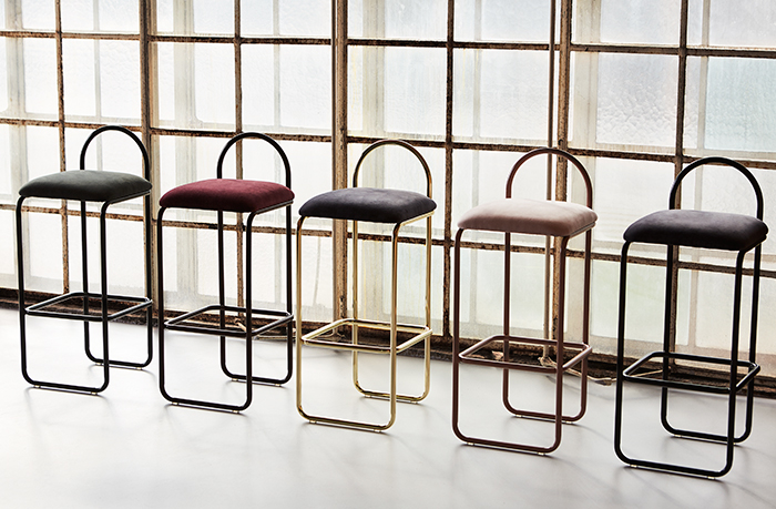 'Angui' bar stools by Kathrine & Per Gran Hartvigsen for AYTM. Simple but extremely elegant.