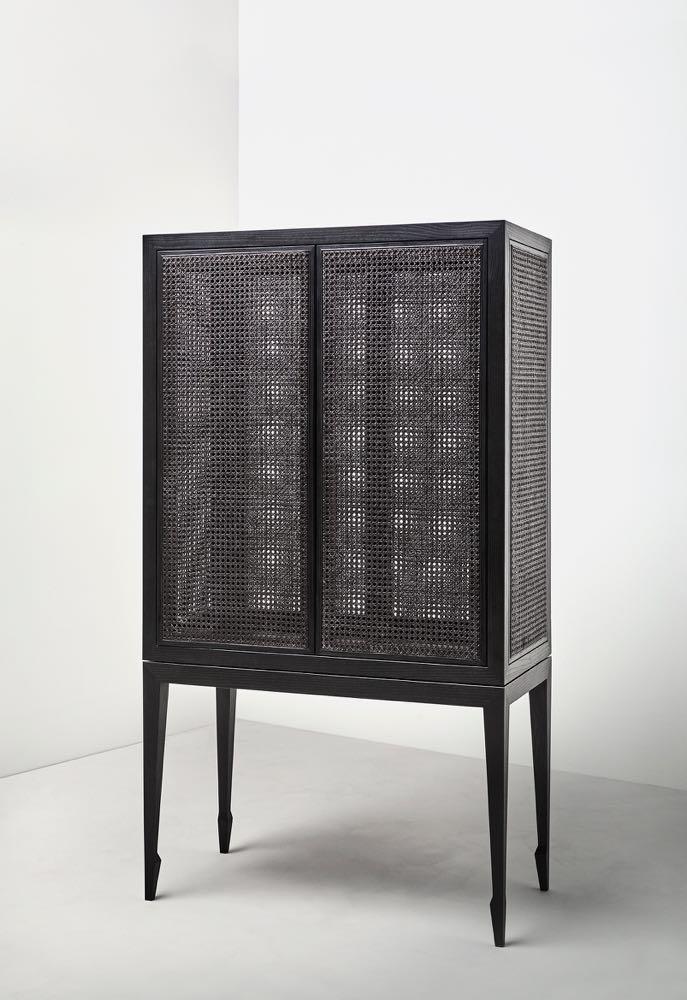 Isabel Ahm & Signe O. Lund's 'Prima Ballerina' shoe storage cabinet.