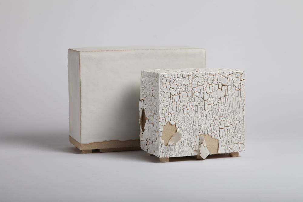 'White Scalled Skin' by Karine Benvenuto represented by Collection Ateliers dArt De France.