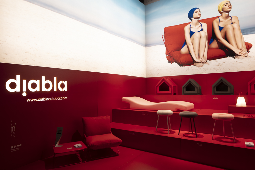 A new brand Diabla was launched by Spanish company Gandiablasco at Salone del MObile.