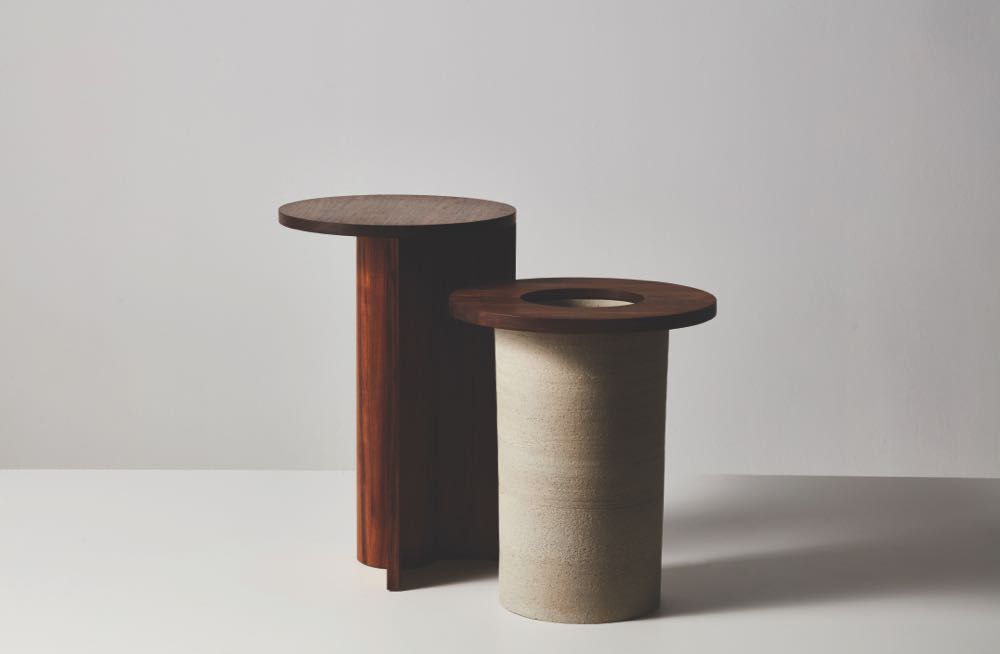 Andrew Carvolth's side tables. Photograph by Andre Castellucci & Anna Fenech Harris.
