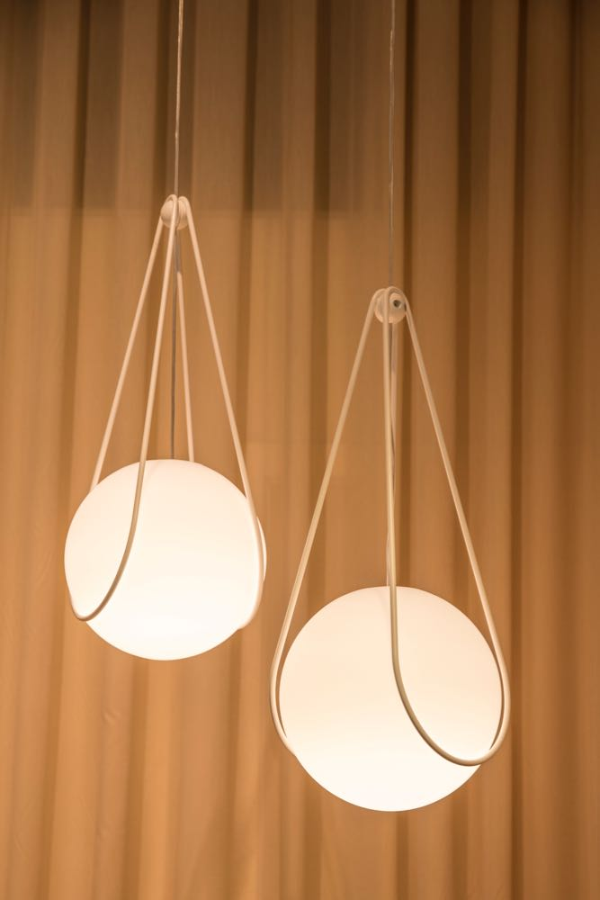 SWEDISH DESIGN MOVES - HEMMA Stories from Home. The light is called 'Kosmos' and is by Alexander Lervik for Design House Stockholm. Photograph by Mattia Buffalo.