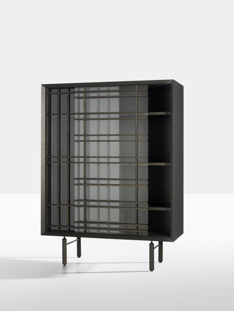 Chiara Andreatti  had a massive year in 2018 following on from her selection as the Fendi designer for Design Miami in 2017. The cabinet shown above is the 'Sen' by Andreatti for  Potocco.  There is a matching low sideboard in the collection.