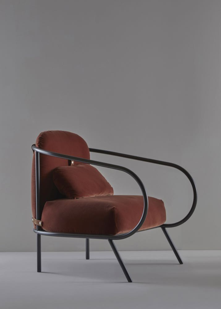 The 'Minima' armchair by Denis Guidone for Mingardo.