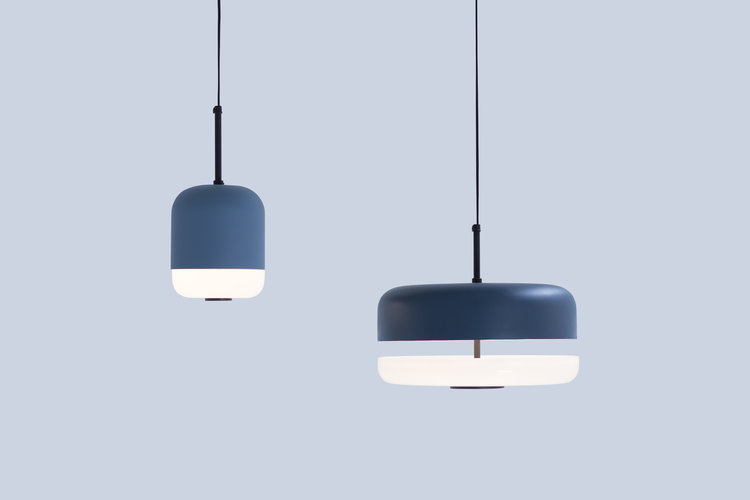 Andrea Bue's 'Cielo' pendant lights. Photo by Sara Anny Hansson Kalsnes.