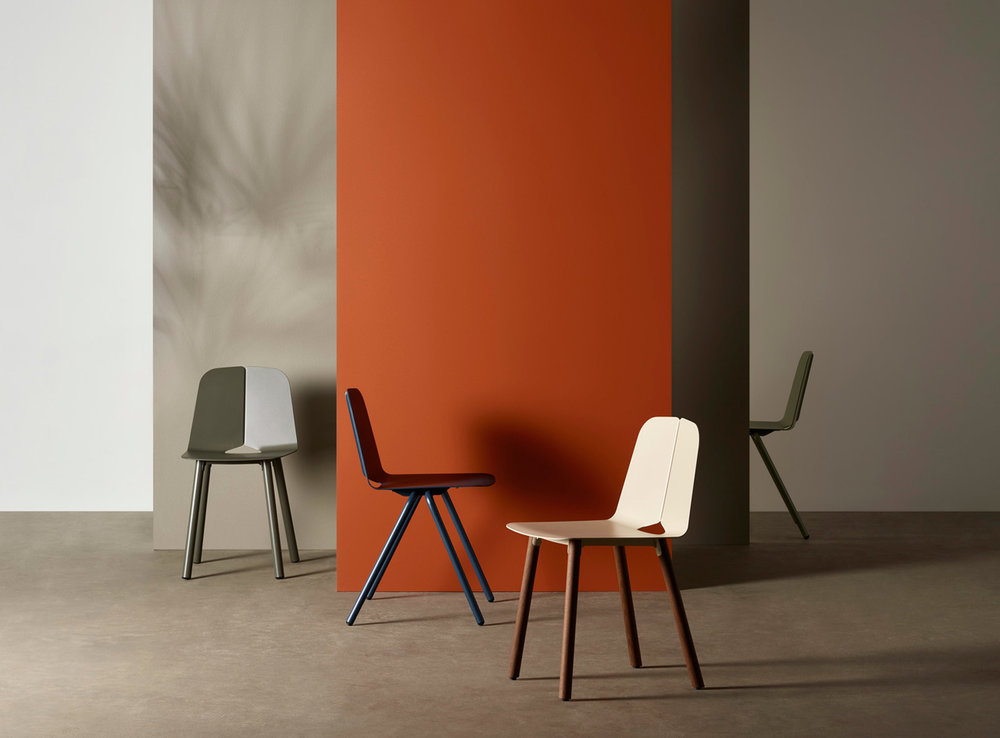 The 'Seam' chair by Adam Cornish for Tait.