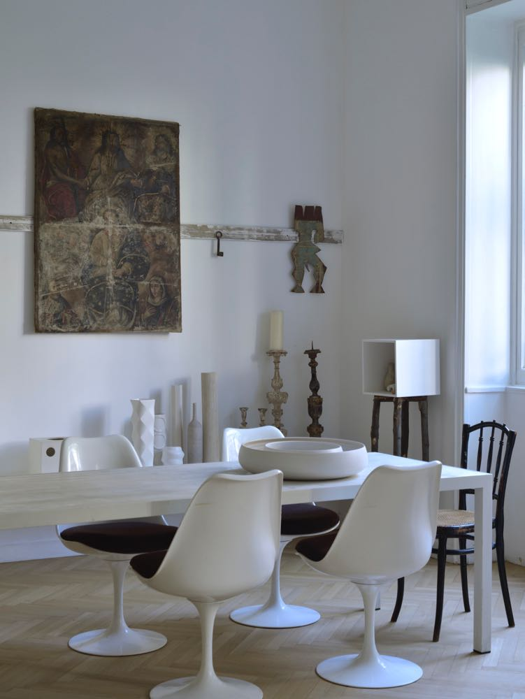 The Milan apartment of stylist and creative director, Elisa Ossino.
