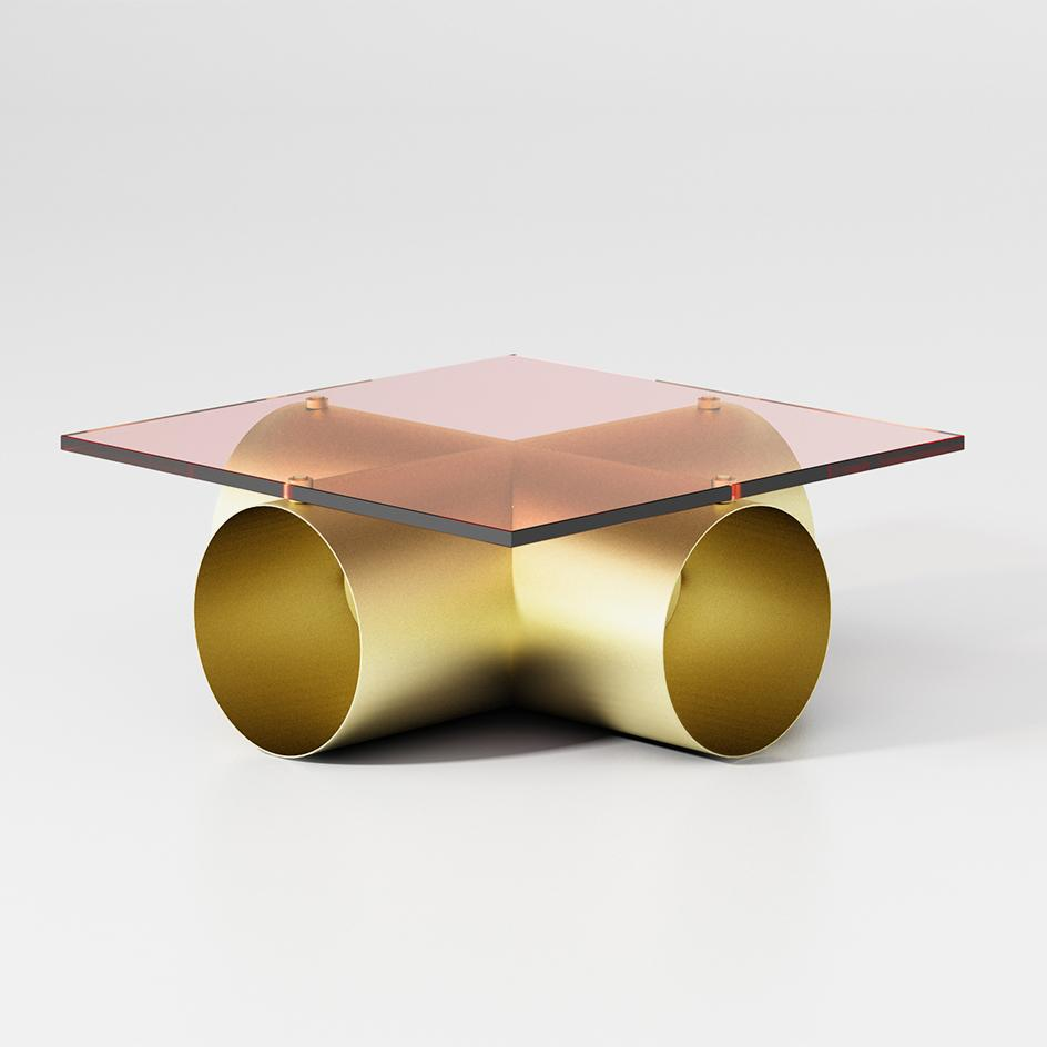 Fredrik Paulsen's 'Ror' coffee table, part of Atelier Francois Pouenat's Series 1 exhibition at Joyce Gallery.