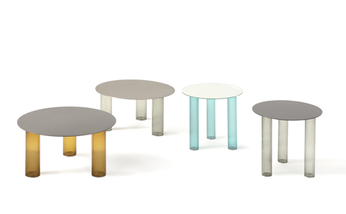 Sebastian Herkner's 'Echino' side tables for Zanotta.