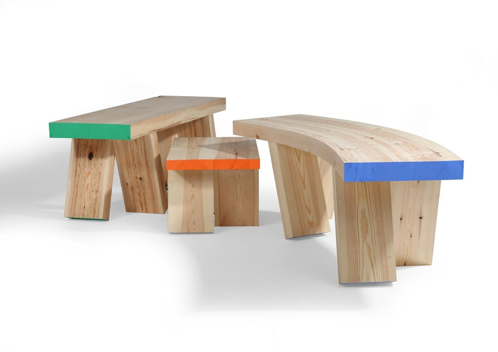 'Bench Gang' by Christian Cowper. Part of the Pure Talents competition at imm Cologne 2019. Cowper won second prize for his entry.