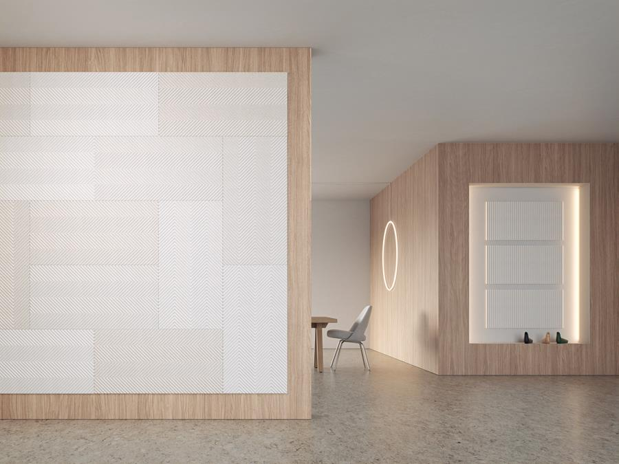 Swedish acoustic panel company Baux were awarded Best Stand Award by international design platforms Dezeen, Yatzer, Yellowtrace & IDEAT Magazine. Baux have come up with the goods yet again. Their new 'Pulp' panels are the first 100% bio-based acoustic panel.