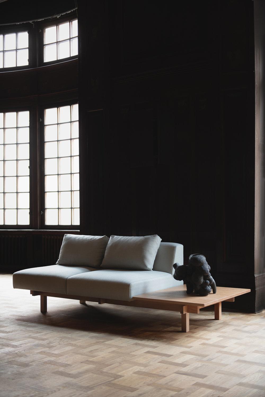 'Raft' sofa by Keiji Ashizawa for Ariake. Photograph by Sebastian Stadler.