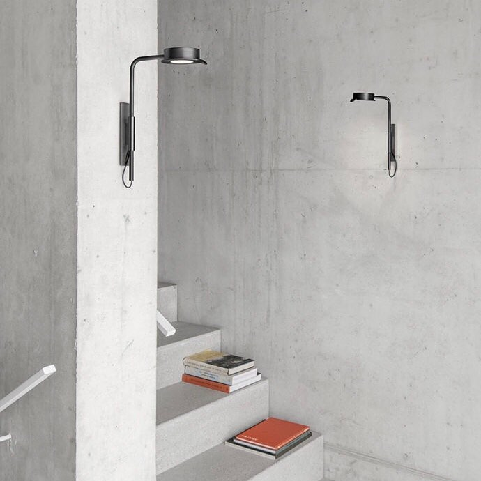 Wastberg's w102 collection by David Chipperfield now includes wall and floor lights.