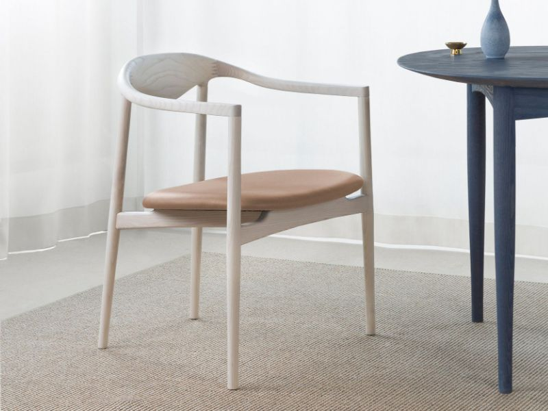 OEO Studio have created 'JARI', a collection of dining chairs and tables, that bring the shared cultural values of Japanese and Danish design. The proportions are slightly finer than mid-century Scandinavian designs but the influence is definitely there.
