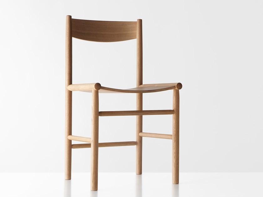 'Akademia' chair by Kaksikko Wesley Walters & Salla Luhtasela for Nikari. Photograph by Studio Chikako Harada.