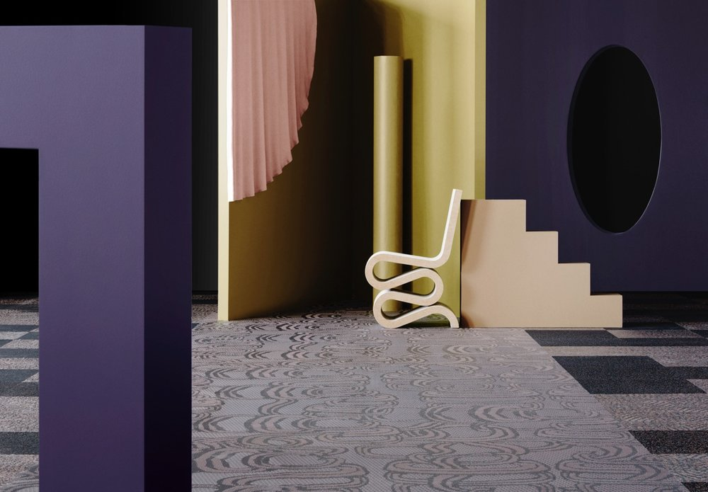 Beautiful imagery for Bolon's new  Diversity  flooring collection.