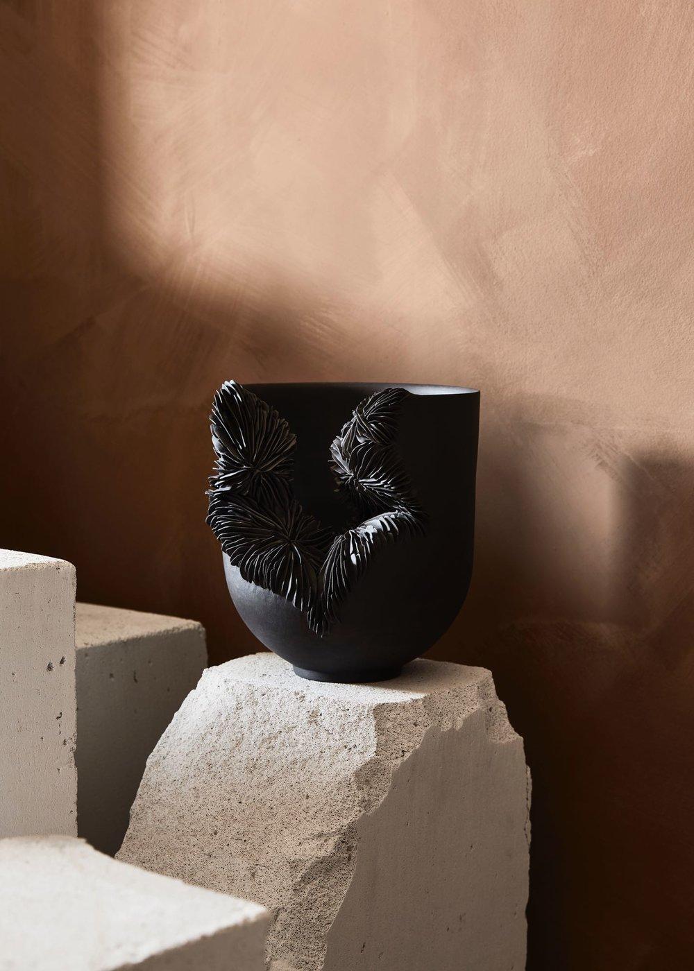 Olivia Walker porcelain from the Living Ceramics series.